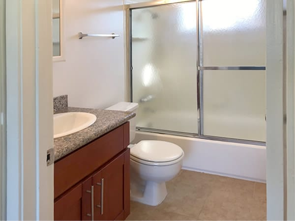 Bathroom standard, 1-2 bedroom