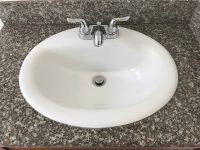 Bathroom sink, standard
