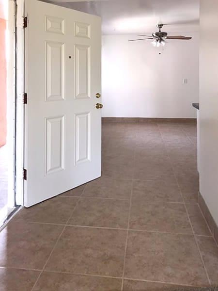 Front door entrance, 2 Bedroom