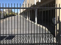 Gated covered parking