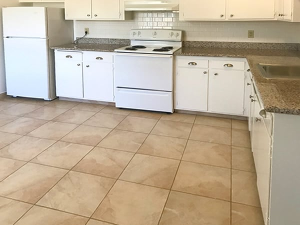 2 bedroom floorplan. kitchen
