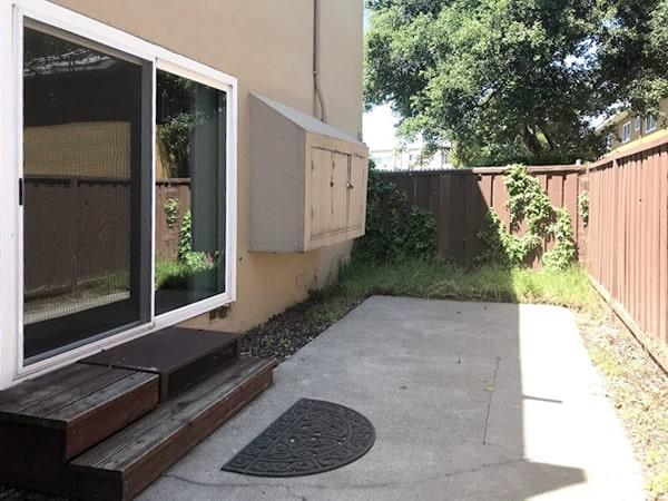 2 bedroom ground floor, large patio