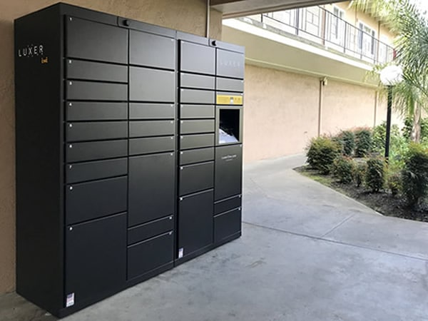 Luxer package delivery locker